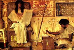 Painting of Joseph in Egypt
